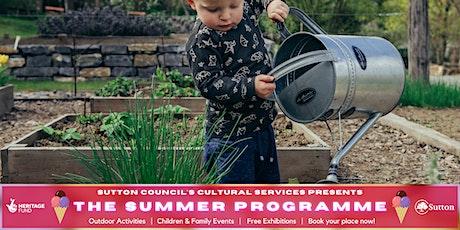 Mini Farmers Workshop with Sutton Community Farm tickets