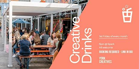 Creative Drinks: August 2021 tickets