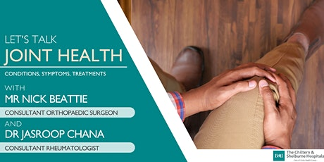 Let's talk Joint Health | FREE Online Event tickets