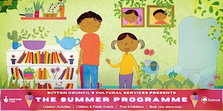 Errol's Garden Gardening Workshop with Golden Toad Theatre. tickets