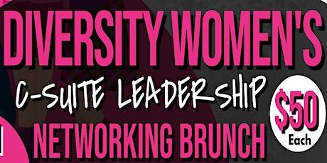 ABCC Diversity Women's C-Suite Leadership Networking Brunch tickets