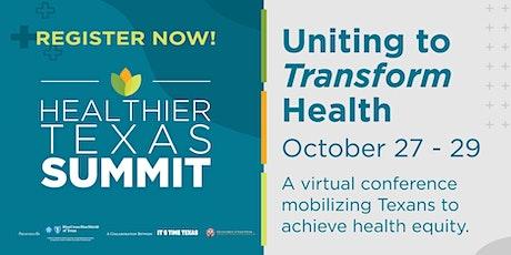Healthier Texas Summit bilhetes