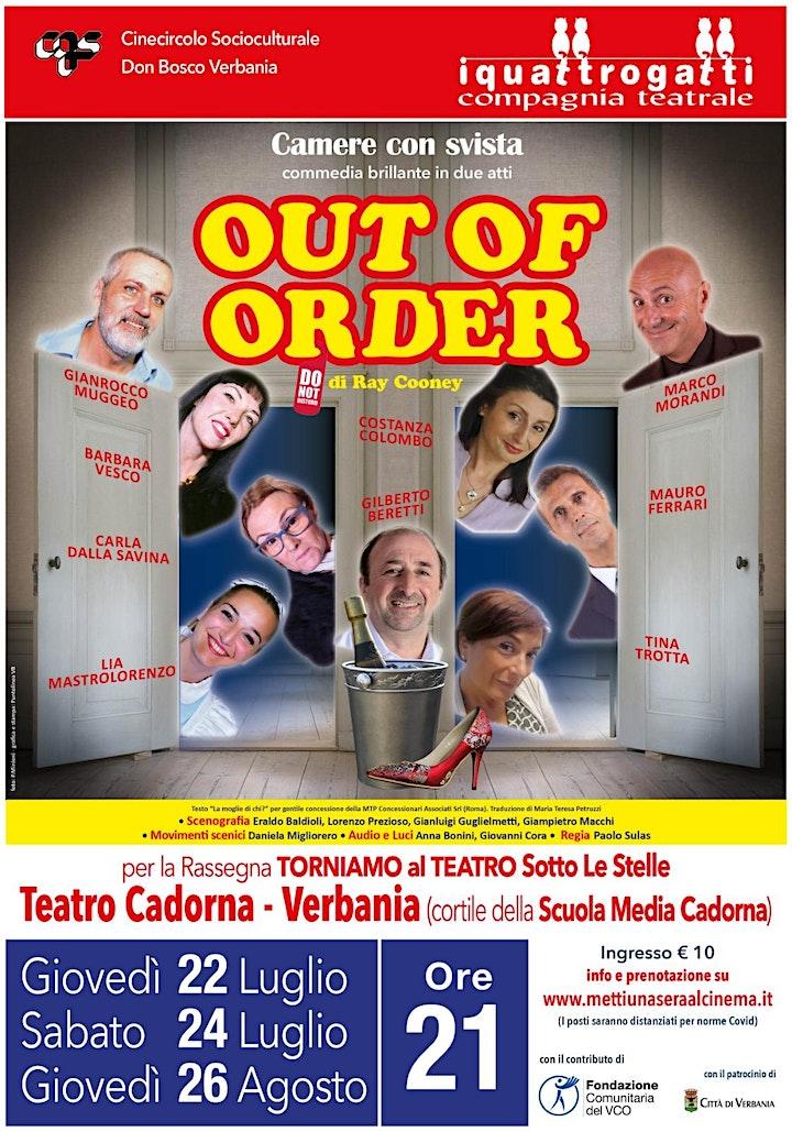 Immagine OUT OF ORDER - TORNIAMO AL CINEMA E AL TEATRO SOTTO LE STELLE
