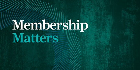 """Membership Matters - """"When you move, you improve """" with Dr Peter Lovatt tickets"""