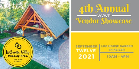 4th Annual Willamette Valley Wedding Professionals Vendor Showcase tickets