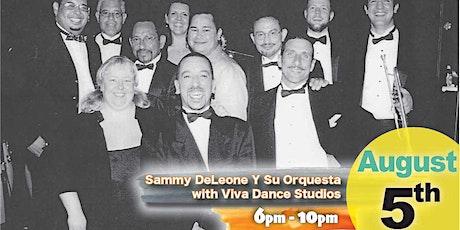 Latin Night with Sammy DeLeon Y Su Orquesta with FREE Salsa lessons! tickets