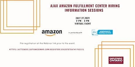 Amazon Fulfillment Center - Ajax - Staff Hiring  Event tickets