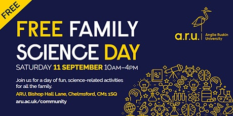 ARU Family Science Day tickets