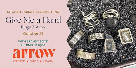 Rings 3 Ways with BMB Designs - Powered by Arrow tickets