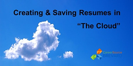 """Creating and Saving Resumes in """"The Cloud"""" tickets"""