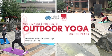 Outdoor Yoga Summer Series with ExtendYoga tickets