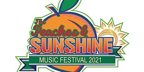 The Peaches & Sunshine Music Festival tickets