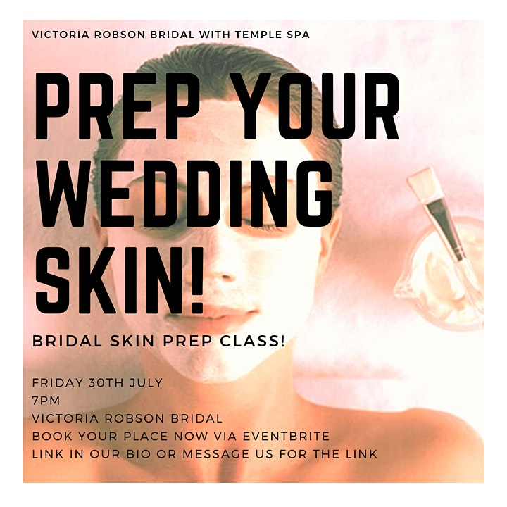 BRIDAL SKIN PREP WITH TEMPLE SPA! image