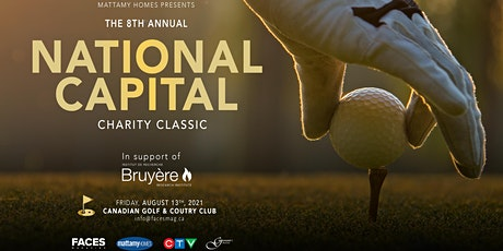 Mattamy Homes Presents The 8th Annual National Capital Charity Classic tickets