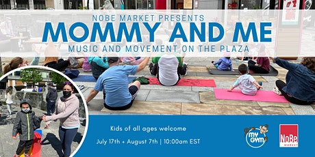 Summer series: Mommy + Me Movement and Music Class tickets