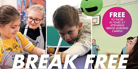 WEEKLY TICKET - Monday 9th - Friday 13th August -Break Free 2021 - BLC tickets
