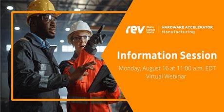 Manufacturing Hardware Accelerator Information Session tickets