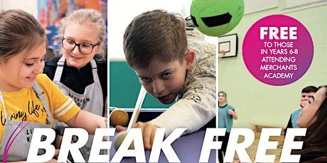 WEEKLY TICKET - Mon 16th - Fri 20th August -Break Free 2021 - Merchants tickets