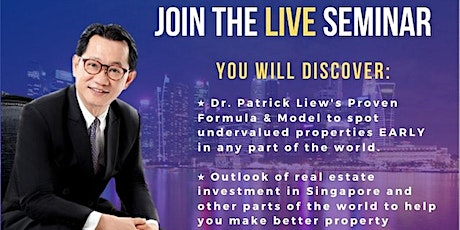 FREE ONLINE Property Investing MASTERCLASS by Dr. Patrick Liew tickets