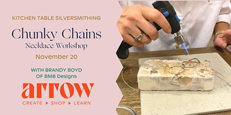 Chunky Chains Necklace Workshop with BMB Designs - Powered by Arrow tickets