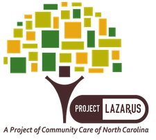 Project Lazarus: A Project of Community Care of North Carolina logo