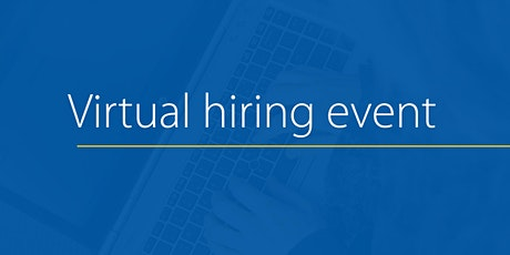 Virtual Hiring Event - August 18 tickets