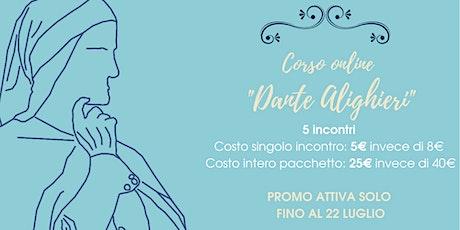 """Corso online """"Dante Alighieri"""" biglietti"""