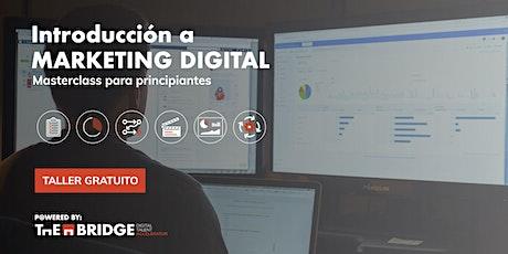 Taller: Introducción a Marketing Digital entradas