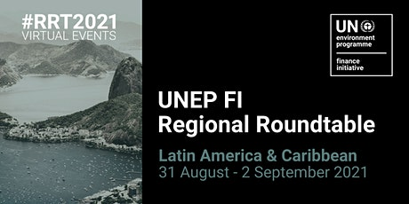 UNEP FI Regional Roundtable Latin America and Caribbean 2021 ingressos