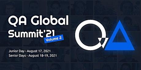 QA Global Summit'21 vol.2 tickets