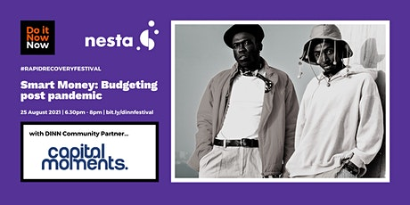 Smart Money: Budgeting post pandemic with Capital Moments tickets
