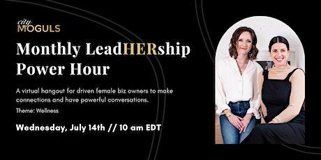 LeadHERship Power Hour for Female Entrepreneurs - Let's Talk Accountability tickets