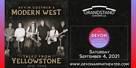 Kevin Costner & Modern West tickets