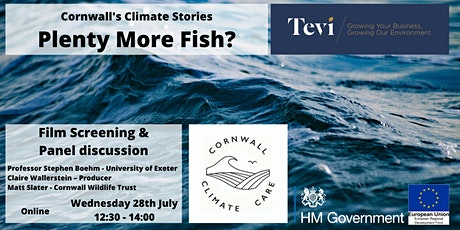 Cornwall's Climate Stories: Plenty More Fish - Film discussion with Q&A tickets