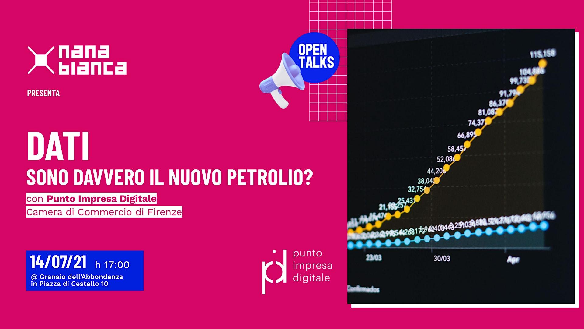 Open Talks: Dati: sono davvero il nuovo petrolio?