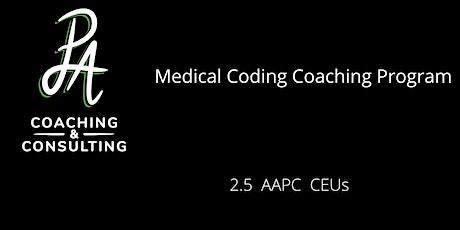 Medical Coding Coaching Program tickets