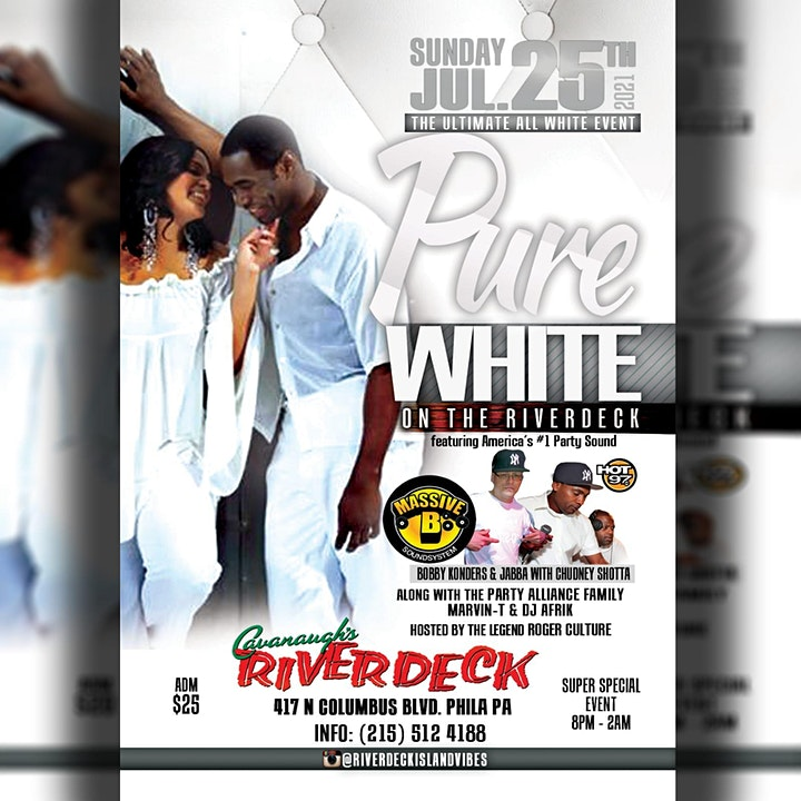 PURE WHITE On The  RIVERDECK! image