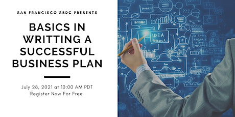 Basics in Writing a Successful Business Plan tickets