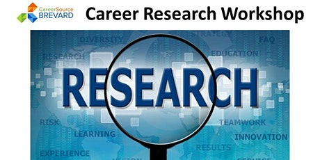 Career Research tickets