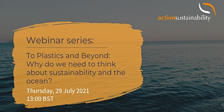 Why do we need to think about sustainability and the ocean? tickets