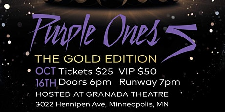 The Purple Ones 5: The Gold Edition, A Prince Inspired Fashion Show tickets