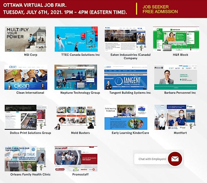 Kanata Virtual Job Fair - September 23rd, 2021 image