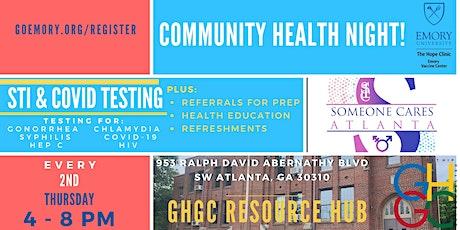 GHGC Community Health Night tickets