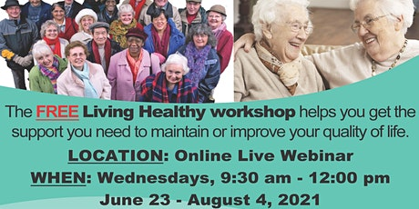Living Healthy - Chronic Pain Management tickets