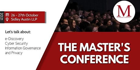 Master's Conference - Washington, D.C. tickets