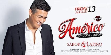 Américo tickets