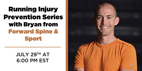 Running Injury Prevention Seminar with Forward Spine & Sport tickets