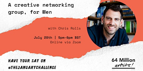 Have Your Say | Creative Networking Group, for Men tickets