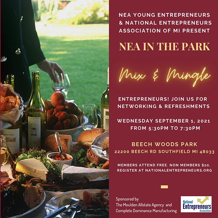 NEA in the Park: Mix and Mingle image