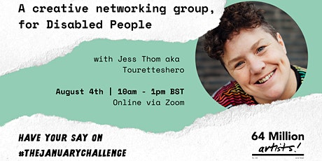 Have Your Say | Creative Networking Group, for Disabled People tickets